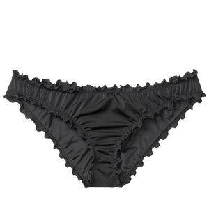 Victoria's Secret Ruffle Cheeky Bikini Bottom